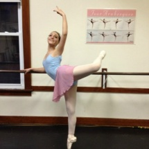 girl on pointe