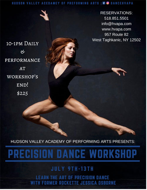 Hudson Valley Academy of Performing Arts - Precision Workshop